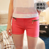 Double Zipper Slim Candy Color Short - J20Style - 4