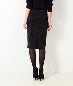 Knee Length Slim Fittig Skirt - J20Style - 2