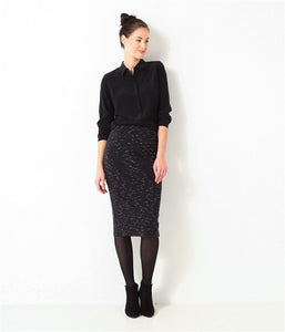 Knee Length Slim Fittig Skirt - J20Style - 3
