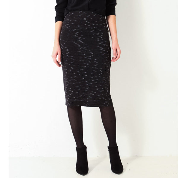 Knee Length Slim Fittig Skirt - J20Style - 1