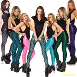 Digital Printed Mermaid Leggings - J20Style - 2