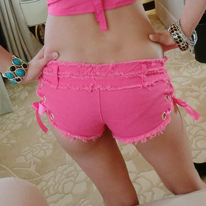 Summer Women Disco Micro Shorts - J20Style - 3