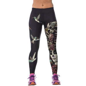 3D Printed High Waist Leggings - J20Style - 5