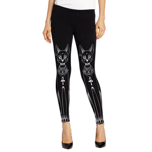3D Printed High Waist Leggings - J20Style - 27