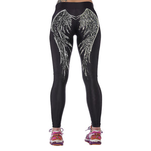3D Printed High Waist Leggings - J20Style - 12