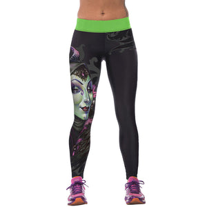 3D Printed High Waist Leggings - J20Style - 18
