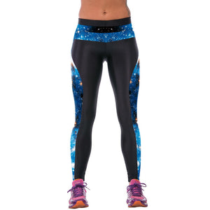 3D Printed High Waist Leggings - J20Style - 4