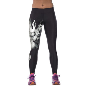 3D Printed High Waist Leggings - J20Style - 26