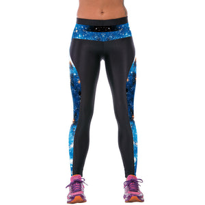 3D Printed High Waist Leggings - J20Style - 11