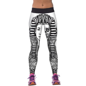 3D Printed High Waist Leggings - J20Style - 21