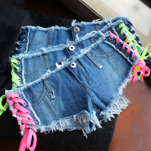Summer Low Waist Women Short - J20Style - 3