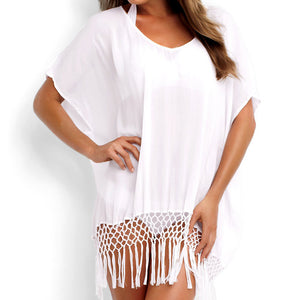 Summer Loose Batwing Short Sleeve Blouse - J20Style - 3