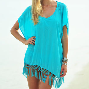 Summer Loose Batwing Short Sleeve Blouse - J20Style - 1