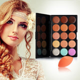 Concealer Make-Up Palette and Stonge Puff - J20Style - 1