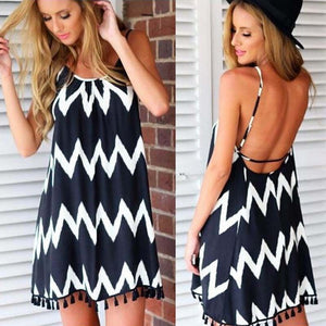 Summer Sleeveless Robe Maxi Dress - J20Style - 2