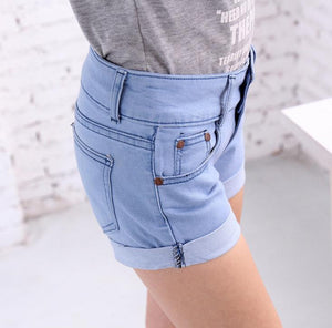 Summer Retro High Waist Shorts - J20Style - 1