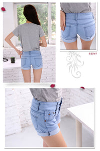 Summer Retro High Waist Shorts - J20Style - 2