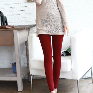 Trendy Velvet Lined Leggings - J20Style - 4