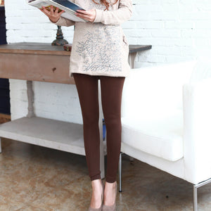 Trendy Velvet Lined Leggings - J20Style - 5