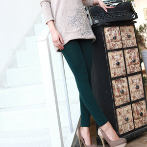 Trendy Velvet Lined Leggings - J20Style - 3