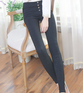 Winter Solid Pencil Pants - J20Style - 6