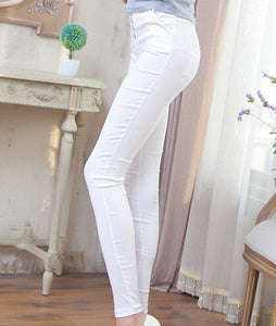 Winter Solid Pencil Pants - J20Style - 2