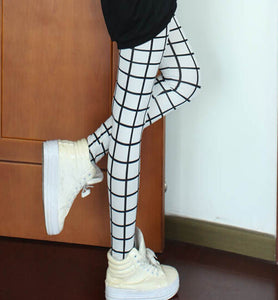 Slim Plaid Printed Pencil Pants - J20Style - 3