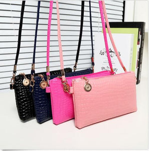 Casual Zipper And Hasp Clutch - J20Style - 1