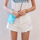 Korean Cotton High Waist Shorts - J20Style - 2