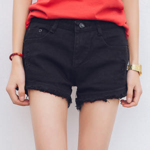 Korean Cotton High Waist Shorts - J20Style - 3
