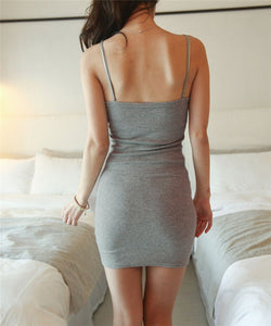 Summer Backless Bodycon Strap Party Dress - J20Style - 4