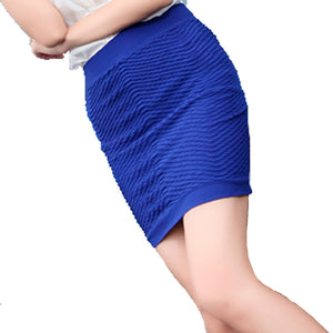 Summer Candy-Colored Pleated Skirt - J20Style - 3