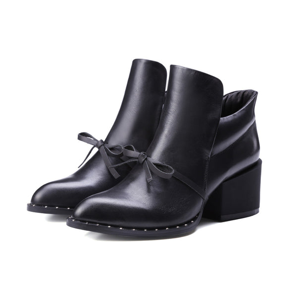 Genuine Leather Fashion Comfortable Martin Short Boot