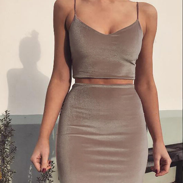 Sexy Halter Casual Vintage Party Dress