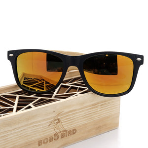 Summer Style Vintage Sunglasses with Wooden Box - J20Style - 6