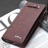 PU Leather Plaid Wallet for Men - J20Style - 3