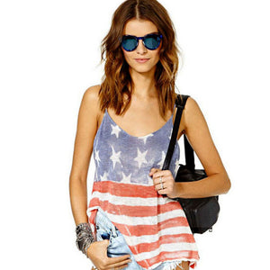 Summer Style American Flag Printed T-Shirt - J20Style - 5