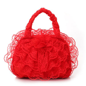 Elegant Bridal Wedding Lace Handbags - J20Style - 1