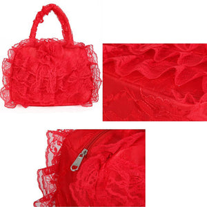 Elegant Bridal Wedding Lace Handbags - J20Style - 5