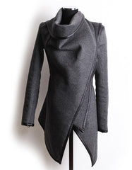 Autumn Irregular Overcoat for Women - J20Style - 2