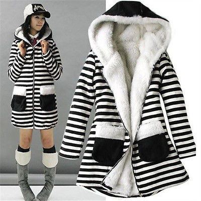 Korean Style Fur Fleece Lined Jacket - J20Style