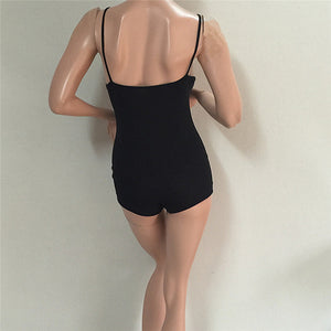 Summer Backless Short Jumpsuit - J20Style - 5