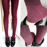 High Waist Elastic Velvet Leggings - J20Style - 5