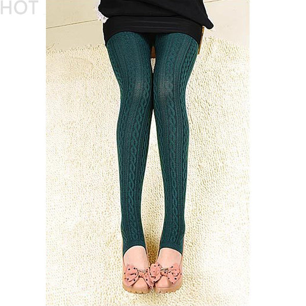 High Waist Elastic Velvet Leggings - J20Style - 1