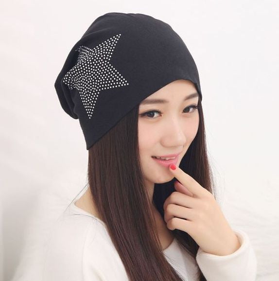 Warm Baggy Beanie Hat - J20Style - 1