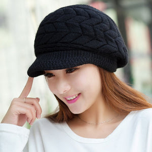 Winter Beanie Knitted Snapback Cap - J20Style - 8