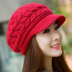 Winter Beanie Knitted Snapback Cap - J20Style - 12