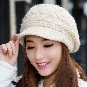Winter Beanie Knitted Snapback Cap - J20Style - 7