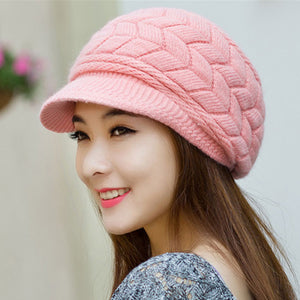 Winter Beanie Knitted Snapback Cap - J20Style - 10