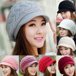 Winter Beanie Knitted Snapback Cap - J20Style - 2